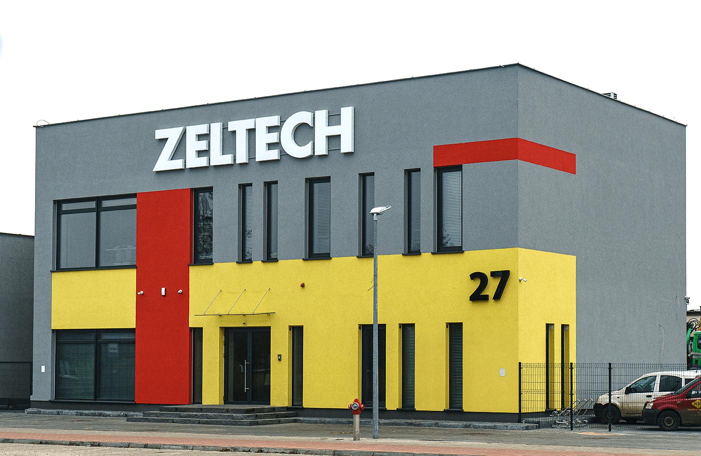 Zeltech siedziba budynek